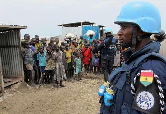 Les Nations unies s'apprêtent à baisser le budget alloué aux casques bleus