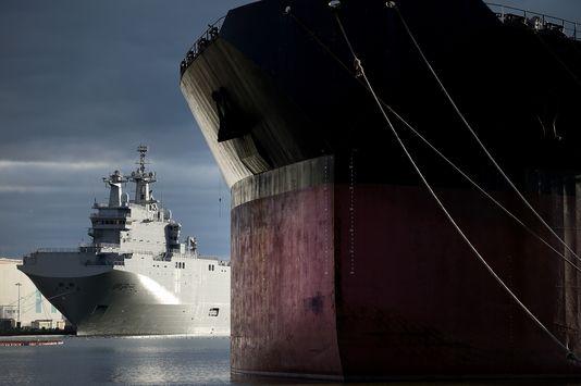 La facture des Mistral non-livrés à la Russie s'élève à 949,8 millions d'euros