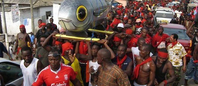 Au Ghana, on vous souhaite de joyeuses funérailles !