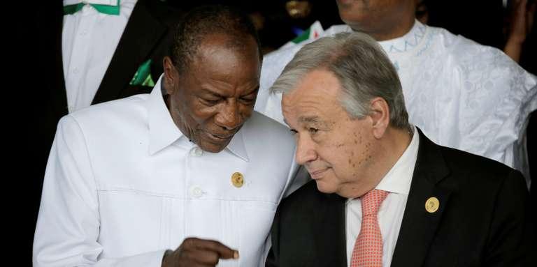 Alpha Condé : « Les crises africaines seront de plus en plus résolues par les Africains »