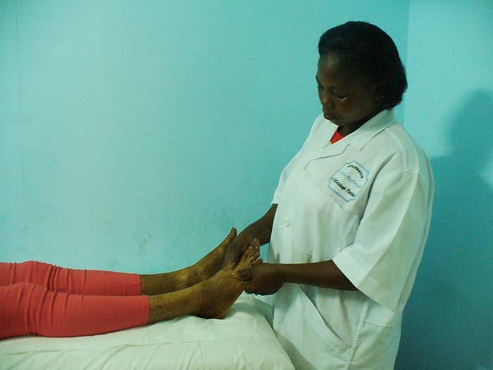 Détoxination/massage des pieds