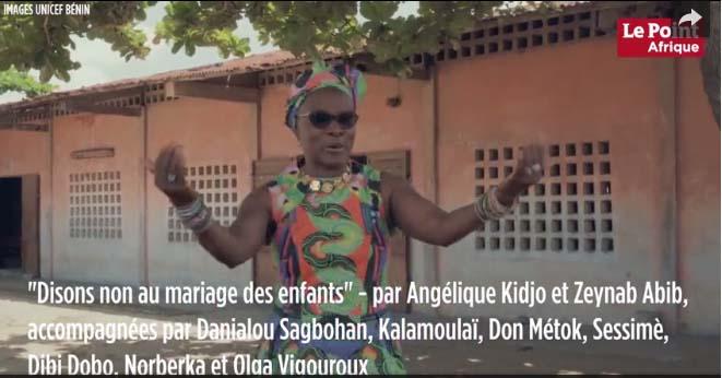 Angélique Kidjo :